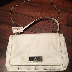 Like new with tags Kate Spade white Leather purse